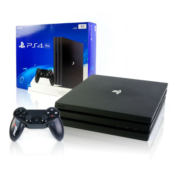 SONY PS4 PRO Konsole 1TB + NEUER Wired Controller - Spielkonsole - Playstation 4