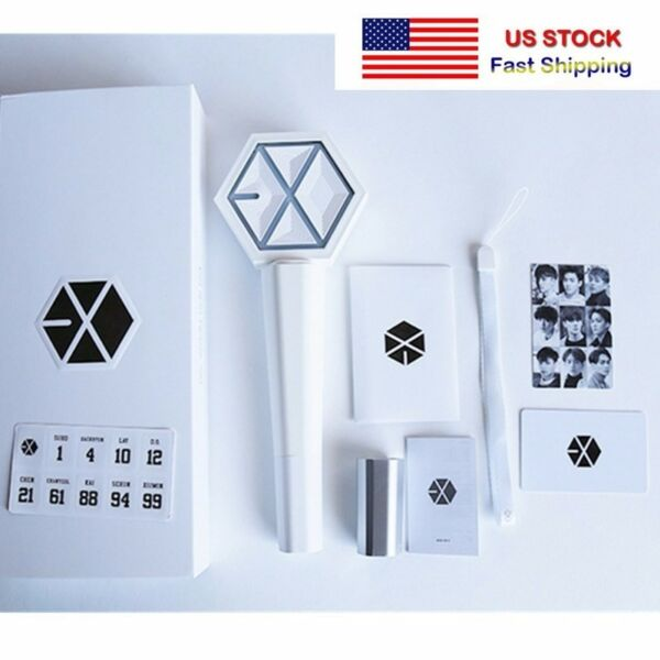 KPOP EXO Light Stick Ver. 2.0 Sehun Chanyeol DO Stick Lamp Glow Lightstick **US