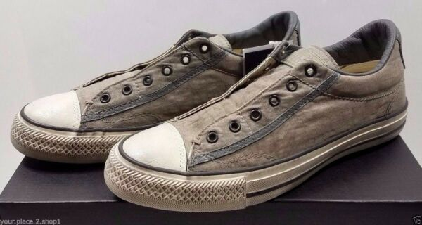 Converse X John Varvatos Slip Ox Drill Nickel Turtle Vintage Brown Shoe 153901C