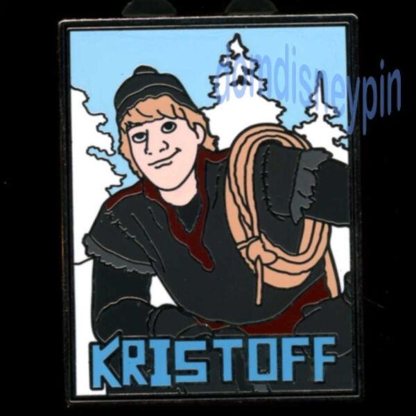 Disney Pin *Frozen* Starter Collection Set - Snow Mountain Climber Kristoff!