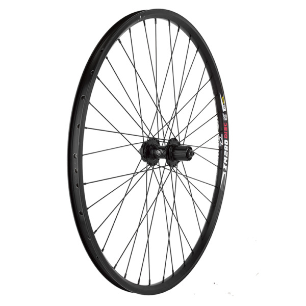 Weinmann XM280 Mountain 29er Rear Wheel Black Shimano 8 10sp Disc 135mm 36H Hub $79.99
