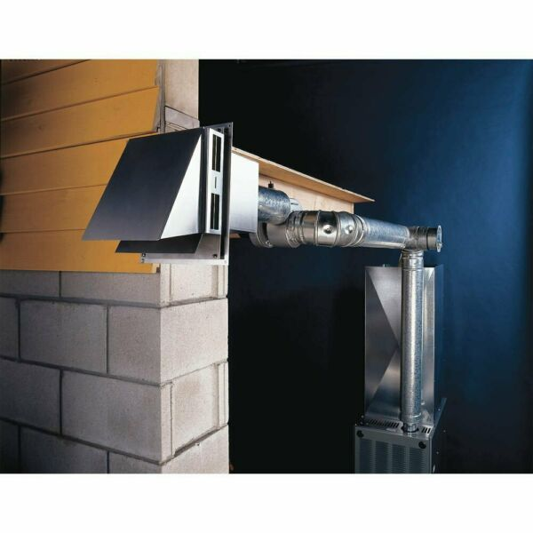 Tjernlund GPAK JT Gas Heater Side Wall 4quot; Vent System for Gas Furnaces $225.05
