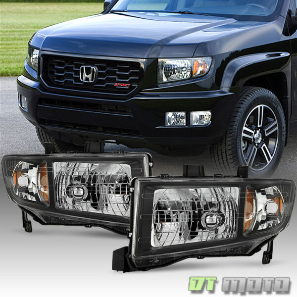 For 2006 2014 Honda Ridgeline Headlights Headlamps Replacement 06 14 LeftRight