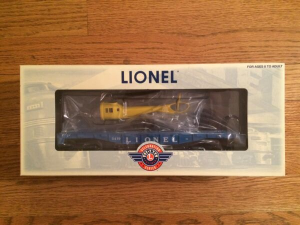 Lionel 29827 3419 Helicopter Launching Car New in Box!