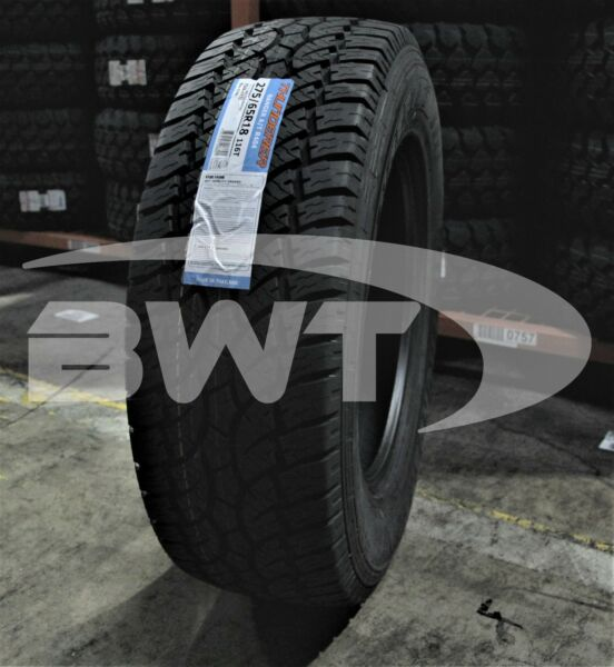 4 New Thunderer Ranger A/T 116T 55K-Mile Tires 2756518,275/65/18,27565R18