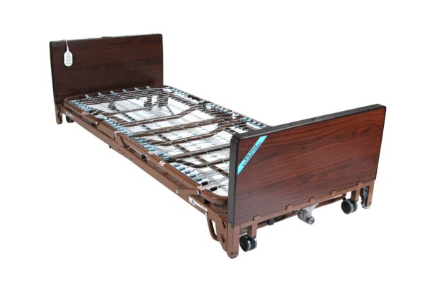 NEW HIGH TO LOW FULL ELECTRIC Hospital Bed for Patients  ITEM#15005LBV-PKG-1