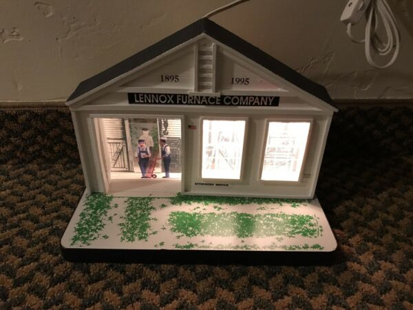 Lennox Furnace Company Light Up Service Center Display Vees Collectibles $49.75
