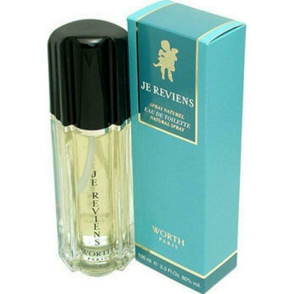 JE REVIENS by WORTH Perfume 3.3 oz 3.4 oz edt New in Box