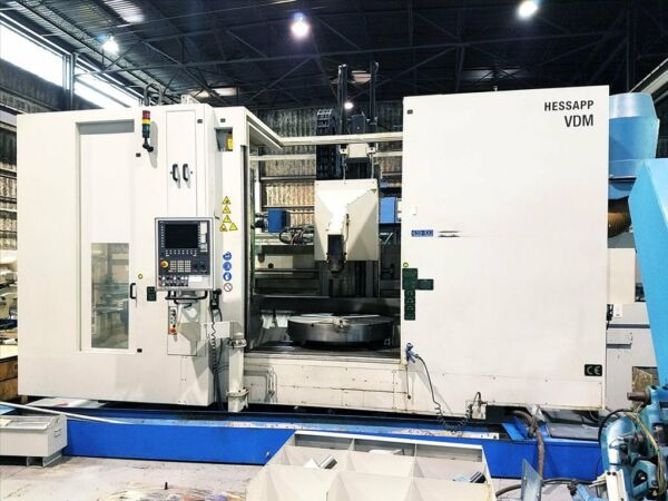 HESSAPP VDM 1200-11 CNC VERTICAL TURNING CENTER B33097