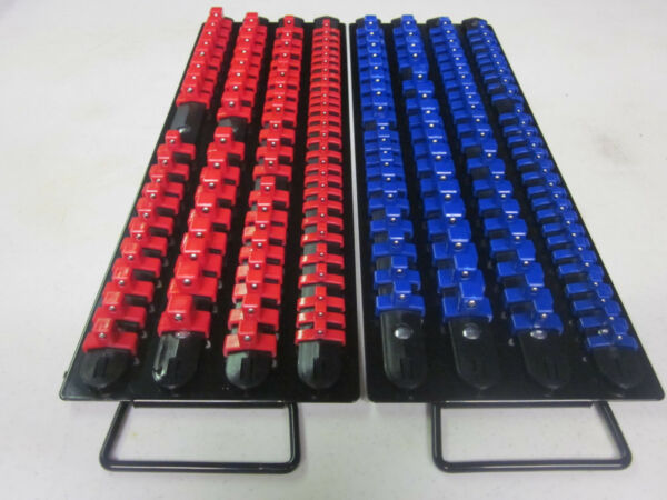 160pc RED / BLUE CLIPS 17-1/2