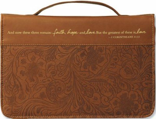 Faith Hope and Love Cover Large Bible Cover by Zondervan Publishing Brand New $1118.95