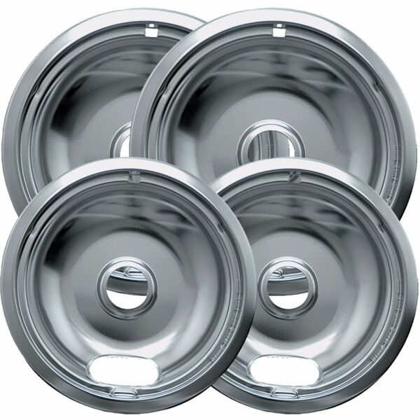4pc Drip Pans Bowl Set 6
