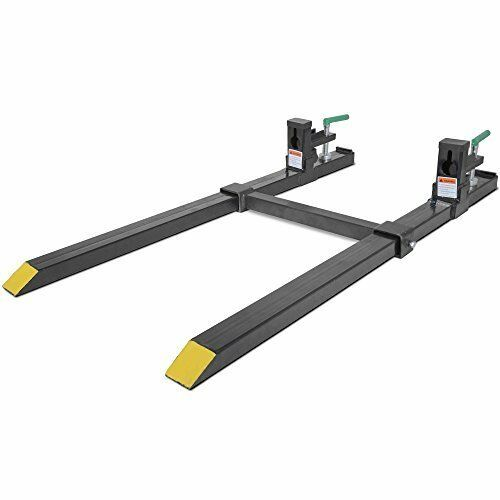 Titan Clamp on Pallet Forks Slide Over the Cutting Edge of Your Bucket 1500 lbs $209.95