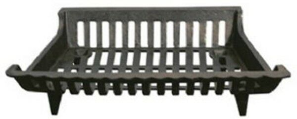 18quot; Black Cast Iron Fireplace Grate New