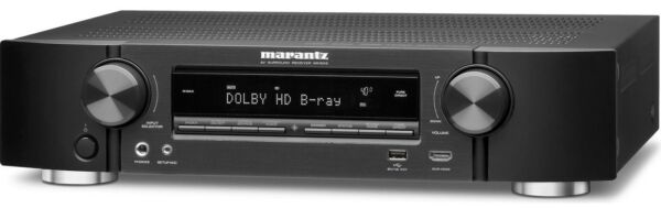 Marantz NR1605 7.1 Channel BLACK Home Theater AV Receiver Bluetooth Wifi UHD