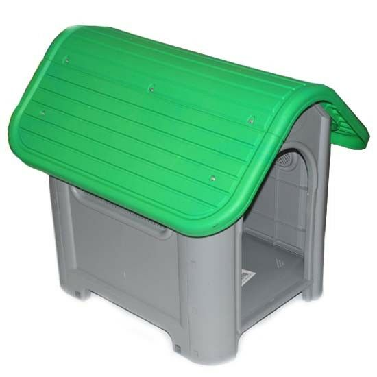 Outdoor Dog House Small to Medium Pet All Weather Doghouse Puppy Shelter Green $59.87