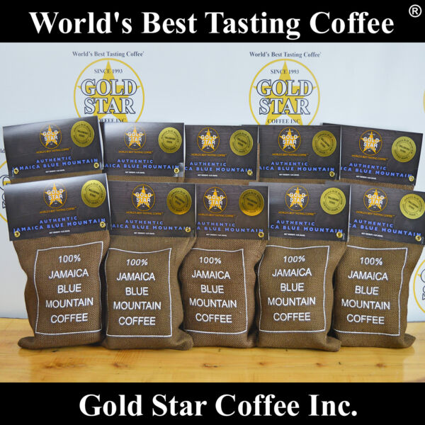 World's Best Coffee - 10 lb Wallenford Estate Jamaica Blue Mountain DARK ROAST