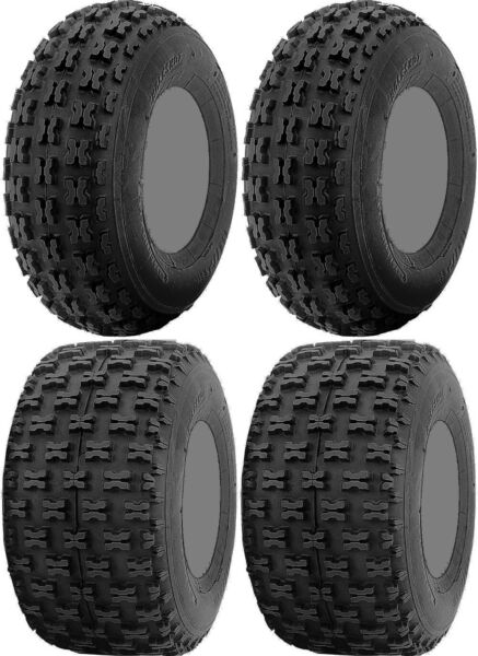 Four 4 ITP Holeshot ATV Tires Set 2 Front 21x7 10 amp; 2 Rear 20x11 9 $271.05