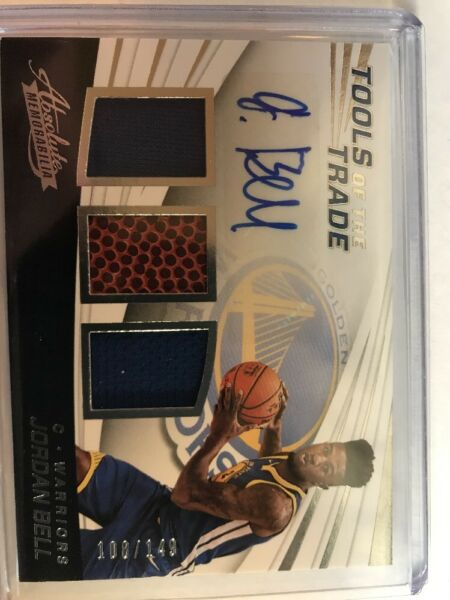 2017 18 Panini Absolute Jordan Bell Triple Jersey Ball RC Auto 108 149 G1 SWEET $23.84