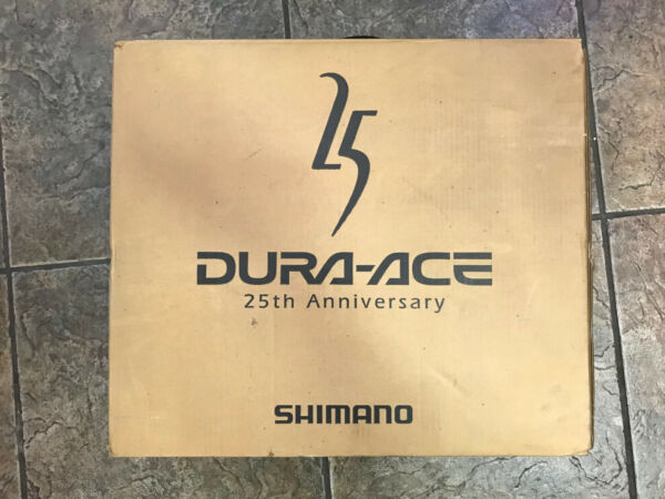 NOS Shimano Dura-Ace 25th Anniversary Group 7700 9 Speed 172.5mm New In Box