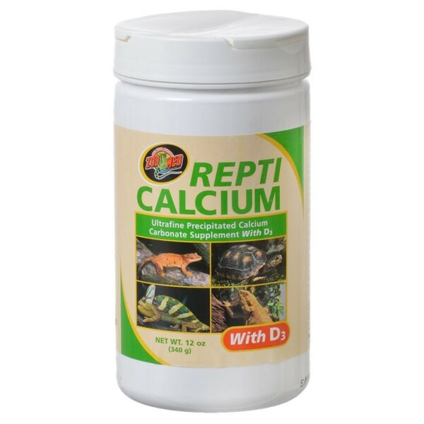 Zoo Med Repti calcium carbonate supplement with D3 Net weight 12 oz $14.99