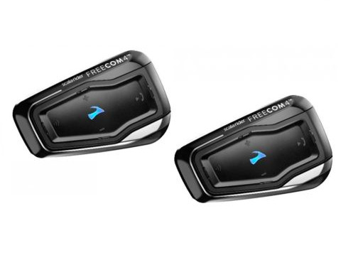 Cardo Scala Freecom 4 Duo units Bike to Bike Bluetooth intercom set of 2 FRC4110 $369.99
