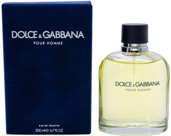 Dolce amp; Gabbana Pour Homme by Damp;G cologne EDT 6.7 6.8 oz New in Box