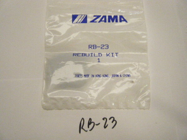 NEW ZAMA RE-BUILD KIT     PART NUMBER RB-23