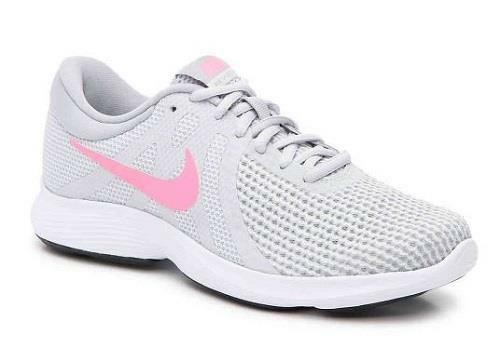 Women's NIKE REVOLUTION 4 Gray Athletic Running Sneakers Shoes 908999-016 NEW