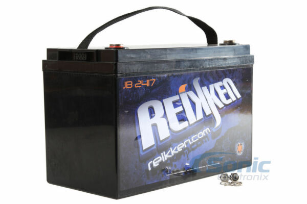 Reikken JB2417 12-Volt Deep Cycle AGM Car Audio Battery Power Cell 4800 Watts