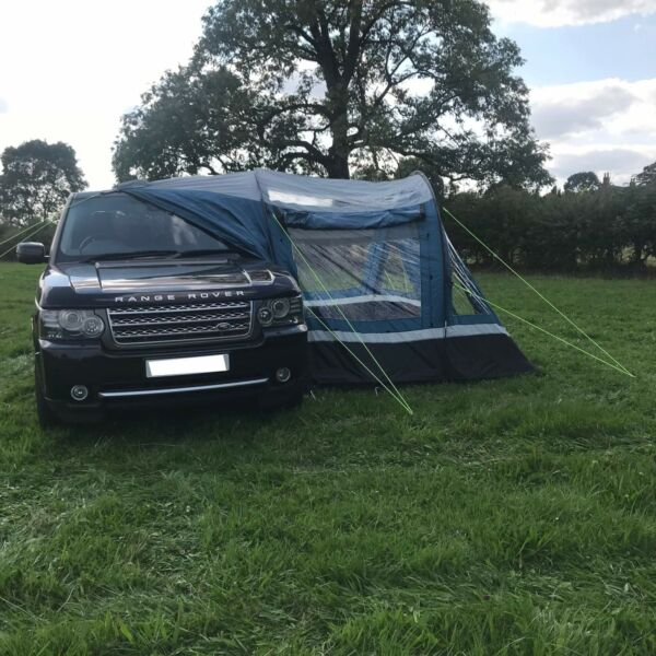 Royal Blockley Driveaway Camping Side Awning with FREE 3-Person Inner Tent