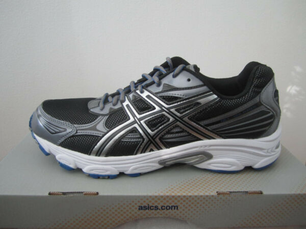 New! Mens Asics Galaxy 5 Running Shoes Sneakers  Black - select sizes