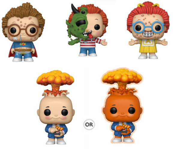 GARBAGE PAIL KIDS FUNKO POP TOY SET 55 ADAM BOMB CHASE ASHLEY BOYD CLARK