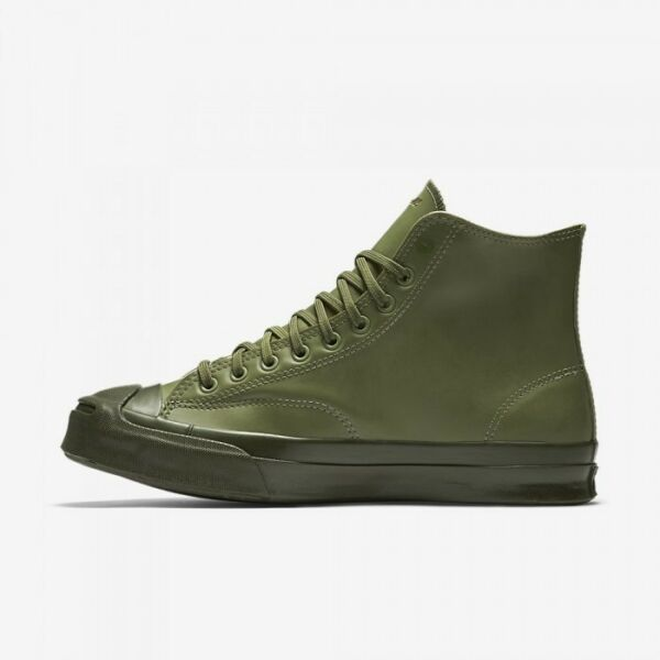 Converse Jack Purcell Signature Rubber High Top 153581C-342 Fatigue Green