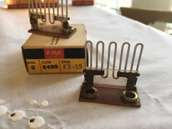FPE Federal Pacific 5490 F3 55 Heater Elements Lot of 2 NEW OLD STOCK VINTAGE $14.95