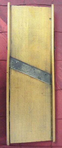Primitive Wooden Cabbage CutterSlicer Made from Wood 17-14