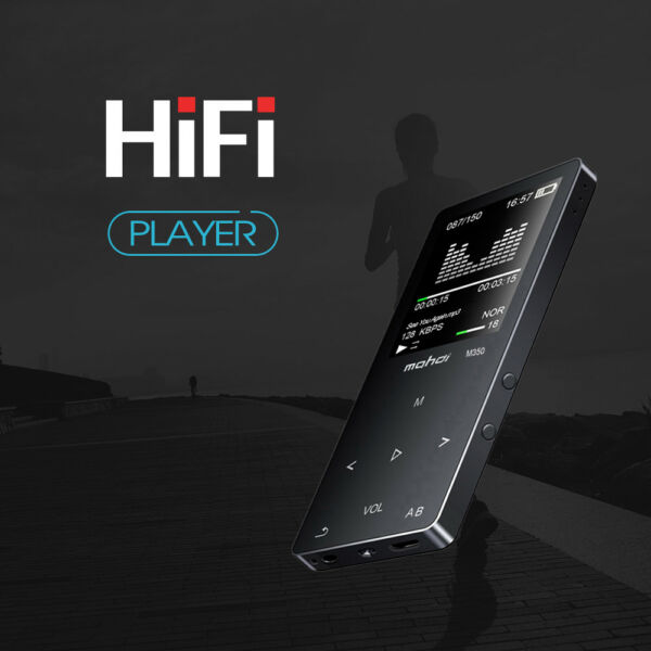 8GB Bluetooth HiFi Metal MP3 Music Player Loseless FM TF Recording APE FLAC WAV