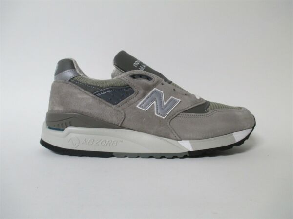New Balance 998 Made in USA Bringback Grey White Sz 9.5 M998