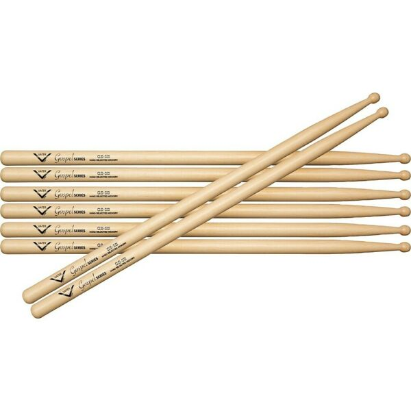 Vater Gospel 5B Drum Sticks Buy 3 Get 1 Free Wood