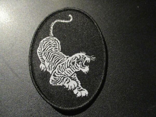 JERRY GARCIA Iron on PATCH TIGER LOGO New Grateful Dead official authentic merch