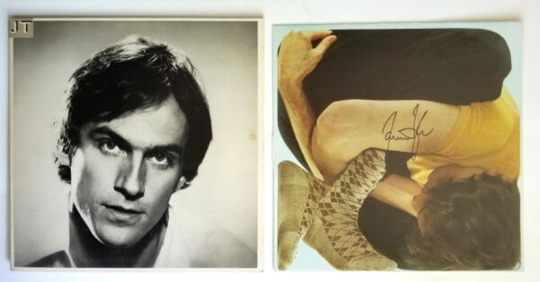 James Taylor REAL hand SIGNED JT Vinyl Record #1 COA Autographed