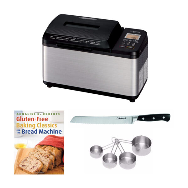 Zojirushi BB-PDC20BA Home Bakery Virtuoso Plus Breadmaker, 2 lb. loaf Bundle