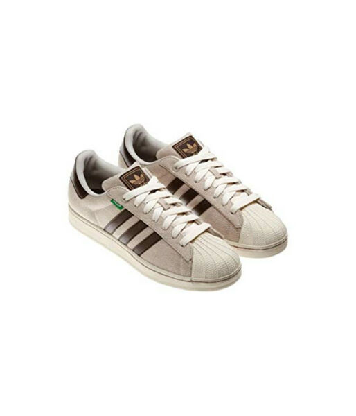 MENS adidas Superstar II 2 HEMP Bliss Tan Brown Q33006 Size 8.5 US Shoes New