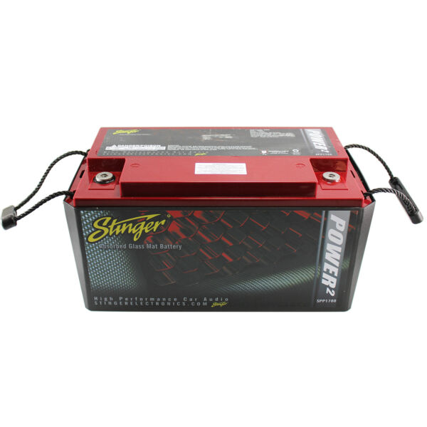 Stinger SPP1700 Car Audio Battery 1700A 3150 Watts SPP Series Dry Cell