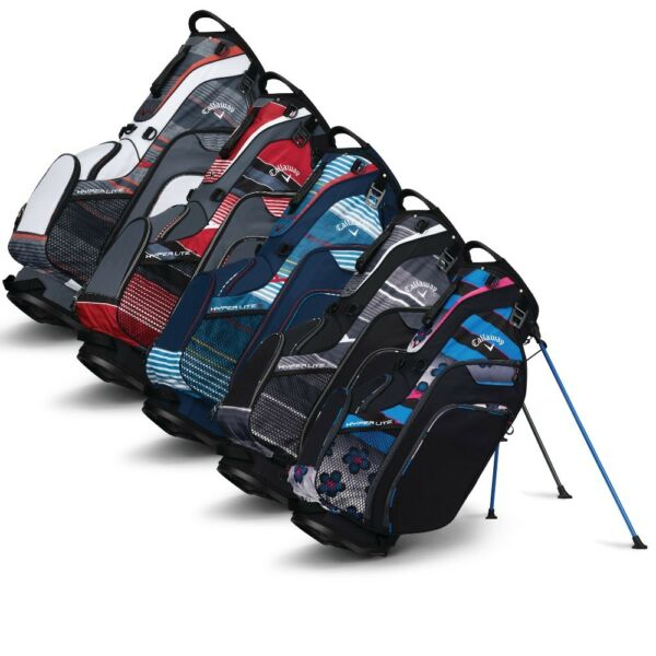 NEW Callaway Golf 2018 Hyper-Lite 5 Stand Bag 7-way Top - Pick the Color!!