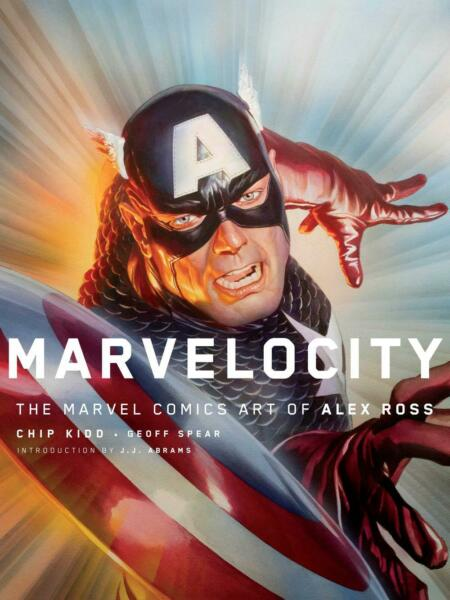 Marvelocity: The Marvel Comics Art of Alex Ross by Charles Kidd Hardcover Book F