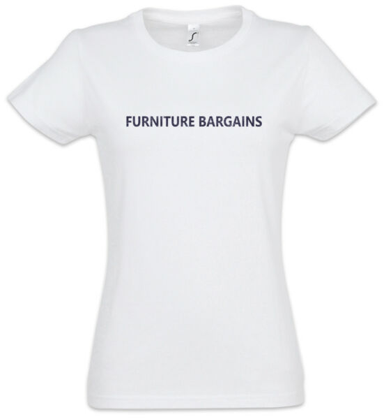 Furniture Bargains Women T-Shirt Eastenders East Symbol Sign Logo Enders Venture $24.95