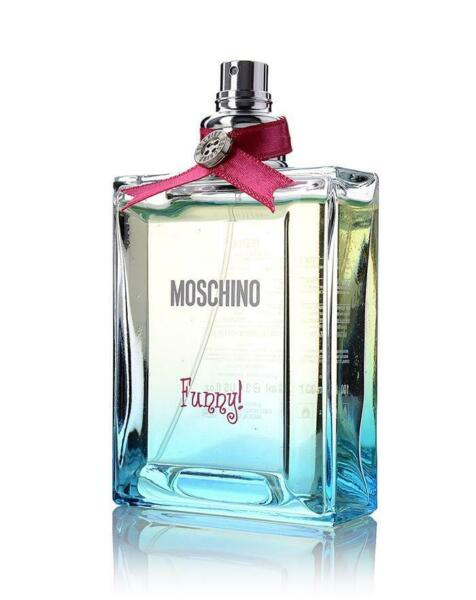 MOSCHINO FUNNY by Moschino for women EDT 3.3 3.4 oz New Tester $24.30
