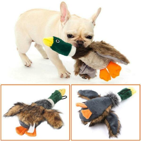 For Dog Toy Play Funny Pet Puppy Chew Squeaker Squeaky Plush Sound Toys  $3.15