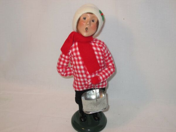 Byers Choice 2005 Boy with Bird Seed Pail